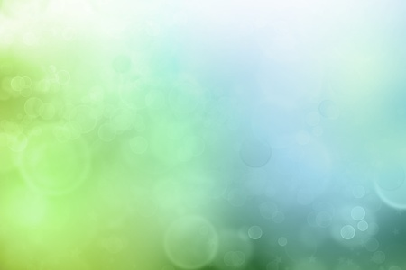 Abstract green and blue tone background photo