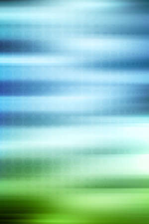 blurring: Green and blue blurred background Stock Photo