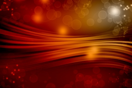 Abstract red starry sky background Stock Photo - 9790278