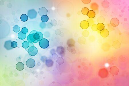 Kleurrijke wazig licht