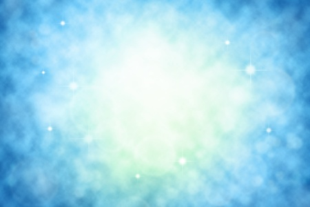 Abstract blurred blue background. Copy space Stock Photo - 9896391