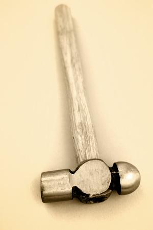 peen: Ball peen hammer