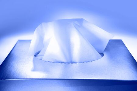 tissue paper: Tissue paper in box