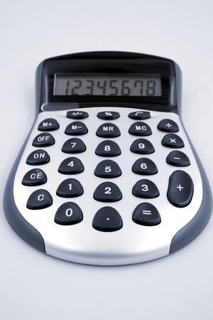 additional: Calculator closeup