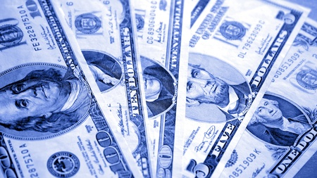 U.S. paper currency photo