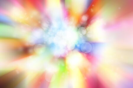 blast: Bright abstract colorful blurred background Stock Photo