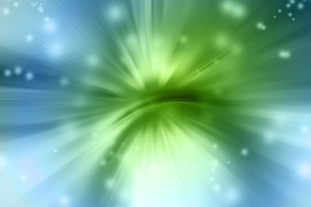 streak: Abstract green and blue background Stock Photo
