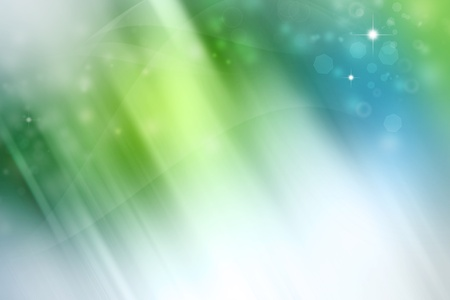 Abstract green and blue background Stock Photo - 10462378