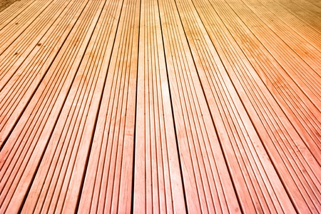 Closeup abstract of floor boards photo