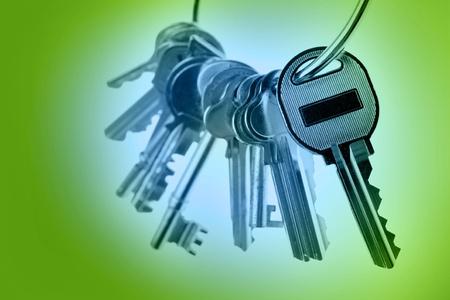 Bunch of keys  Stock Photo