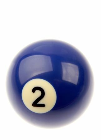billiard ball: Pool ball isolated over plain background