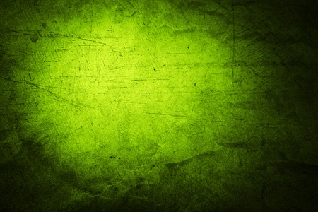 wall textures: Closeup of rough green background