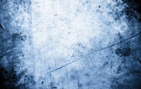 weathered: Closeup of rough blue background  Stock Photo
