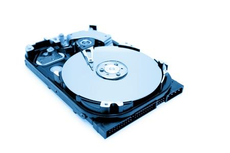 disco duro: Ordenador de disco duro en el fondo llano
