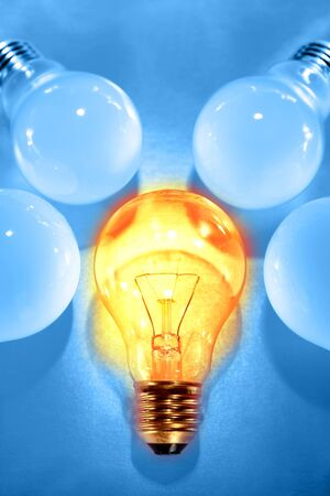 special individual: One bright bulb in crowd