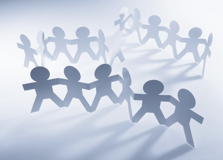 Groups of people Stock Photo - 10642090