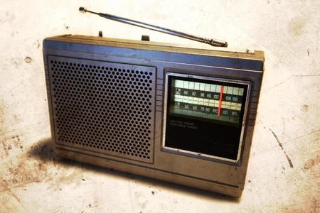 Old retro radio Stock Photo - 10671443