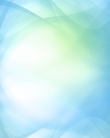 Abstract blue and green background photo