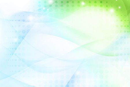 Abstract green and blue background Stock Photo - 10796948