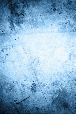 Closeup of rough blue background  photo