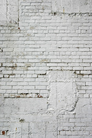 grunge textures: White blocks on building wall