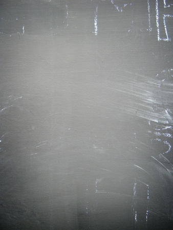 Chalk marks on blackboard photo
