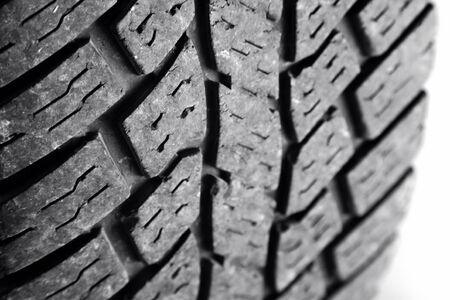 Closeup of tire tread pattern Stock Photo - 11085510
