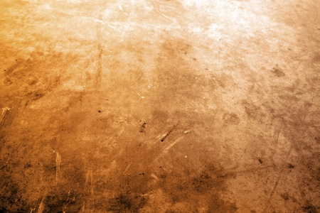 grunge textures: Closeup of brown grungy floor