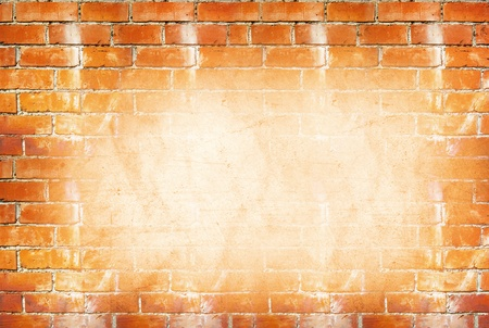 Brick wall, space for copy photo