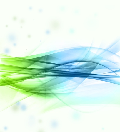 Abstract green and blue background Stock Photo - 11188551