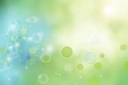 Abstract green and blue lights background Stock Photo - 11188583