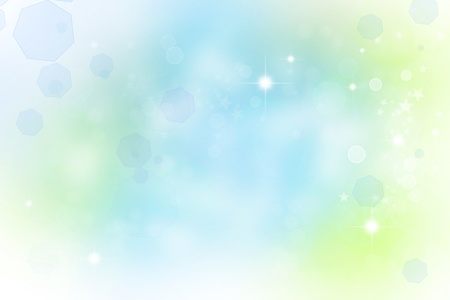 light effects: Abstract green and blue background Stock Photo