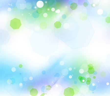 Abstract green and blue background Stock Photo - 11282160