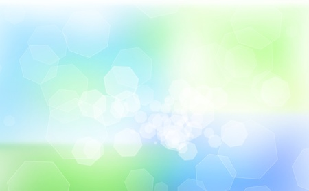 Abstract green and blue background Stock Photo - 11282174