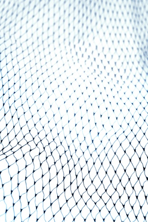 fishing net: Closeup of netting