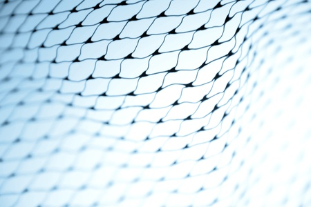 Closeup of netting photo