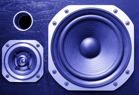 Closeup of stereo speakers Stock Photo - 11915597
