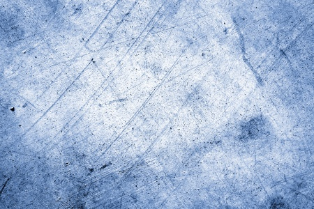 damaged cement: Closeup of blue textured background