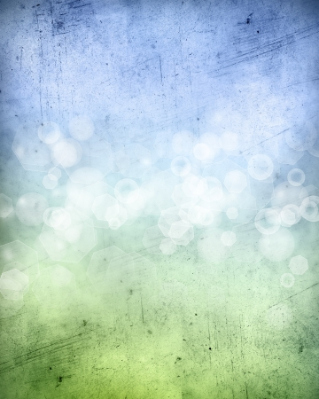 Abstract blue and green background Stock Photo - 12045525
