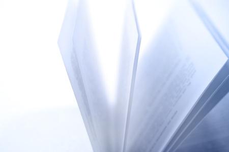 Nahaufnahme des offenen Buch Seiten