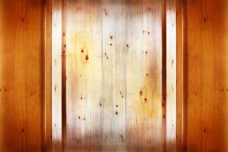 Closeup of grain in wooden panel photo