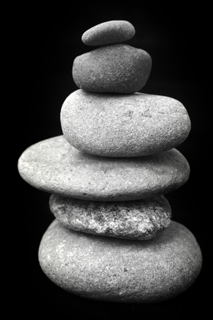 Stones stacked on top of each other Stock Photo - 12196259