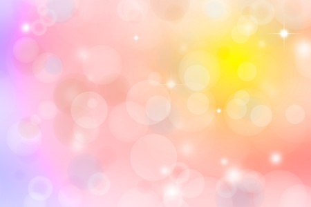 Pink and yellow abstract background Stock Photo - 12196135