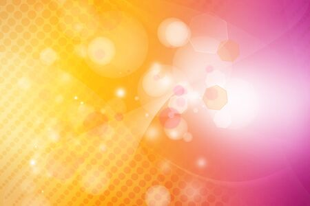 Orange and pink tone abstract background Stock Photo - 12522937