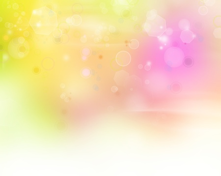 pink bubbles: Circles on abstract background  Copy space Stock Photo