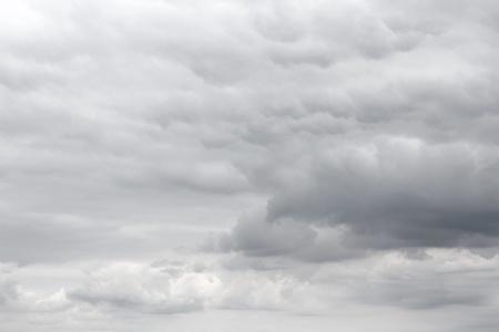 uğursuz: Dark ominous sky, storm clouds Stok Fotoğraf