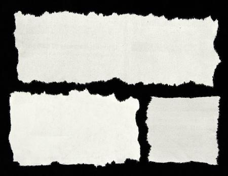 periodicos: Recortes de peri�dicos sobre fondo negro