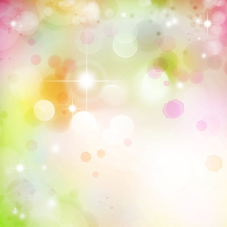 Bright lights abstract background  Copy space