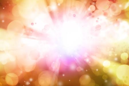 detonation: Bright blast of light explosion