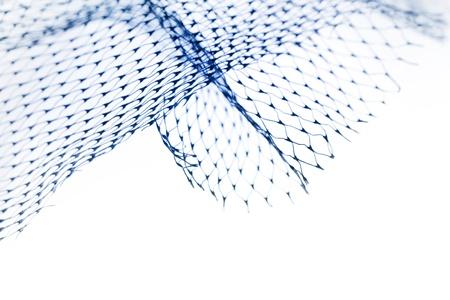 redes pesca: Primer plano de la compensaci�n Foto de archivo